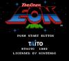 Time Diver: Eon Man title screen