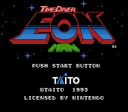 Time Diver: Eon Man title screen