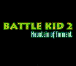 Battle Kid 2 title