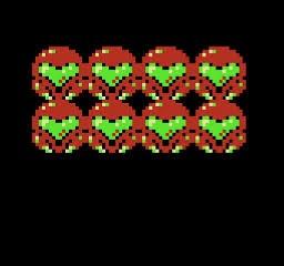 NES Rotozoom title screen