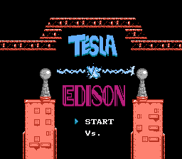 Tesla Versus Edison title screen