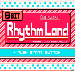 Rhythm Land title screen
