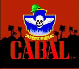 Cabal title screen