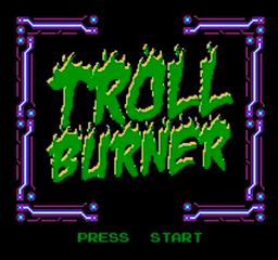 Troll Burner title screen