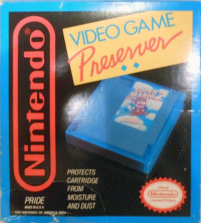 Video Game Preserver