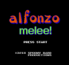 Alfonzo Melee! screen title