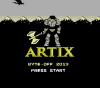 Artix title screen