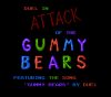 Attack of the Gummy Bears title screen