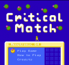 Critical Match title screen