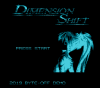 Dimension Shift title screen