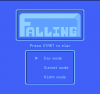 Falling title screen