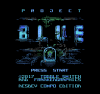 Project Blue title screen
