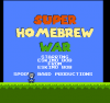 Super Homebrew War title screen