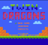 Twin Dragons title screen
