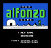 The Alfonzo Game title screen