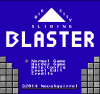 Blaster - Big City Sliding title screen