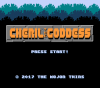 Cheril the Goddess (alternate jump) title screen