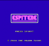 Espinete title screen