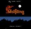 Wolfling title screen